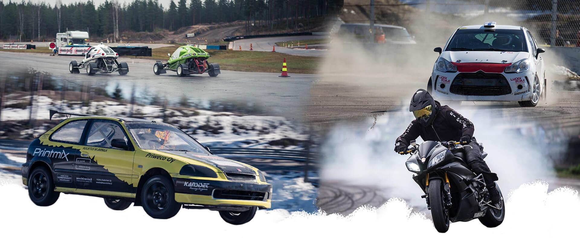 Tykkimäki Moottorirata Kouvola moottoriurheilukeskus